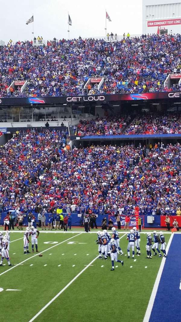 New Era Field, section: 108, row: 20, seat: 6