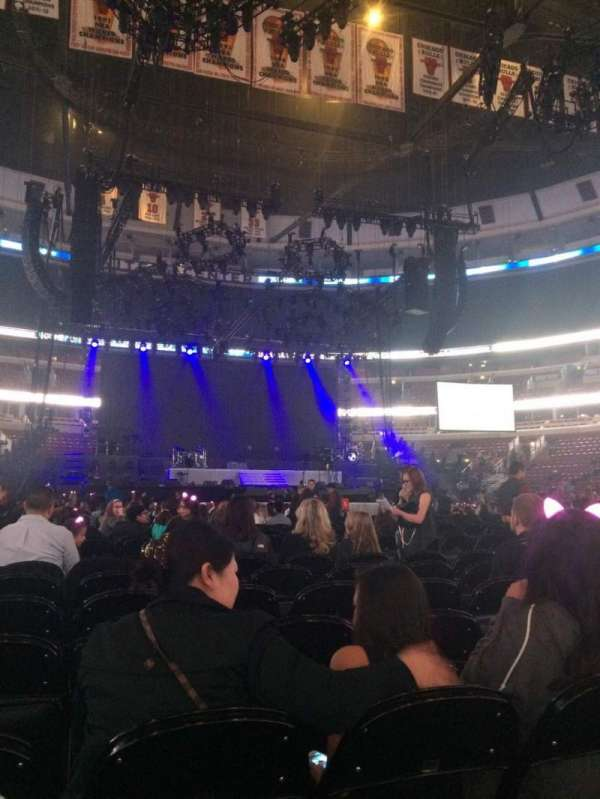 United Center, section: Floor 7, row: 7, seat: 3