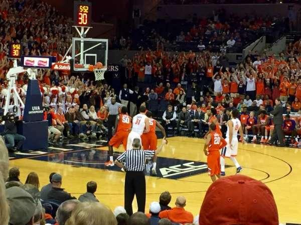 John Paul Jones Arena, section: 113, row: L, seat: 4