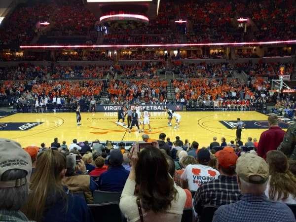John Paul Jones Arena, section: 113, row: Q, seat: 3