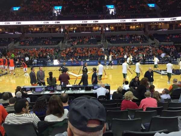 John Paul Jones Arena, section: 113, row: H, seat: 3