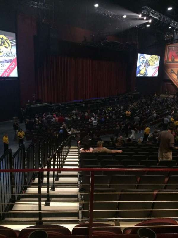 Choctaw Grand Theater, section: 309, row: T, seat: 4
