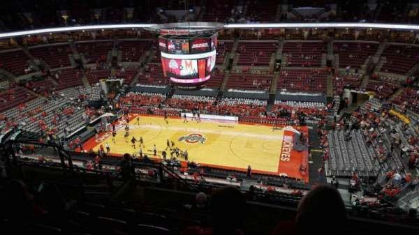 Value City Arena, section: 321, row: m, seat: 11