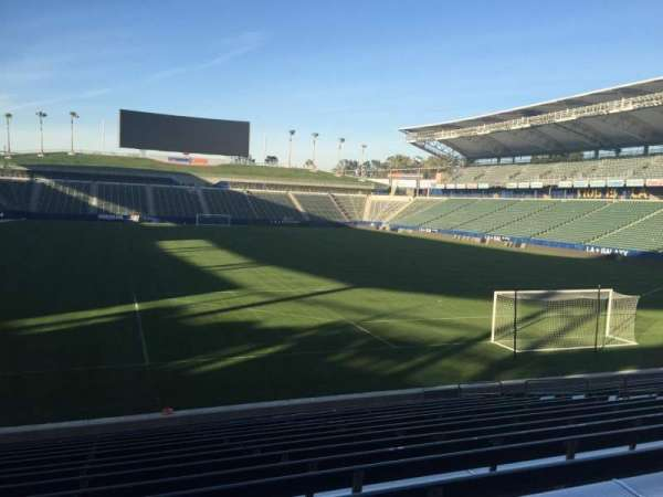 Dignity Health Sports Park, section: 102, row: R, seat: 15