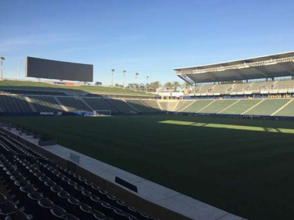 Dignity Health Sports Park, section: 108, row: G, seat: 15