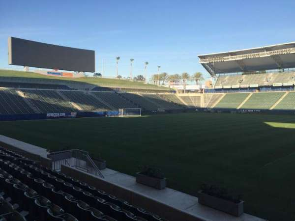 Dignity Health Sports Park, section: 111, row: G, seat: 15