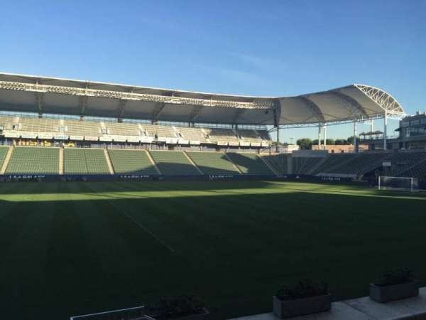 Dignity Health Sports Park, section: 112, row: G, seat: 15