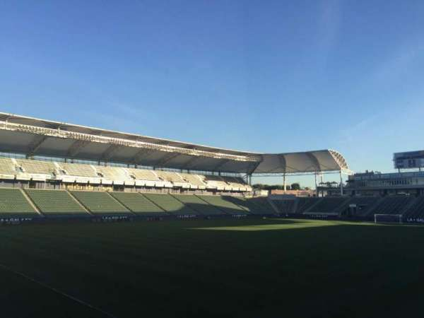 Dignity Health Sports Park, section: 117, row: G, seat: 15