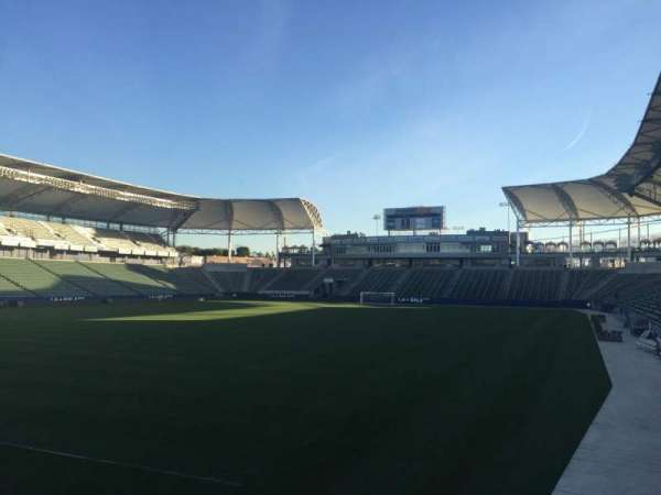 Dignity Health Sports Park, section: 118, row: G, seat: 15
