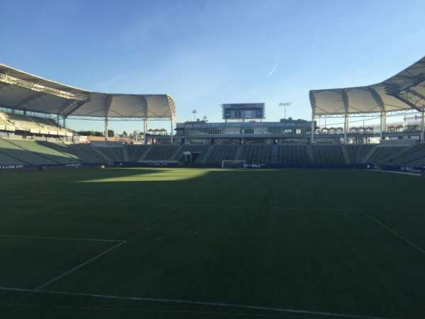 Dignity Health Sports Park, section: 120, row: C, seat: 15