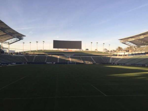 Dignity Health Sports Park, section: 102, row: C, seat: 15