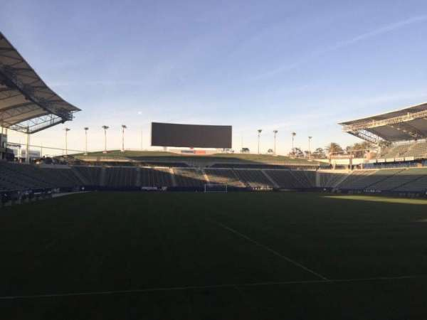 Dignity Health Sports Park, section: 103, row: C, seat: 15
