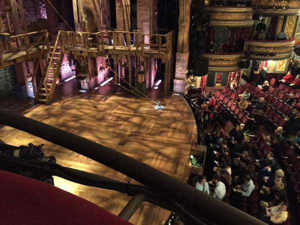Richard Rodgers Theatre, section: Box E, row: 1, seat: 2