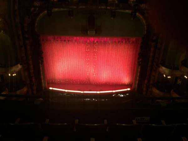 New Amsterdam Theatre, section: Balcony C