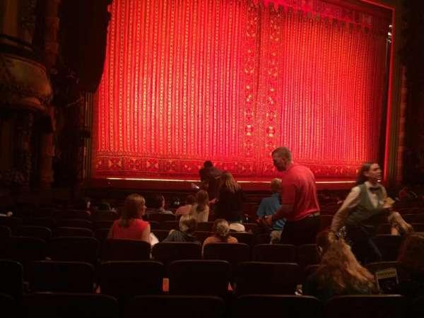 New Amsterdam Theatre, section: Orchestra L