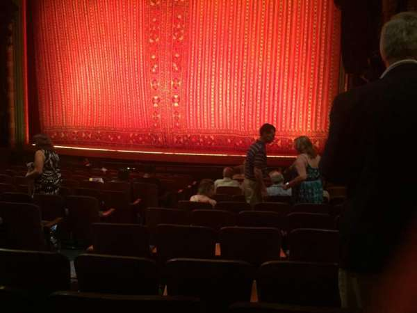 New Amsterdam Theatre, section: Orchestra R