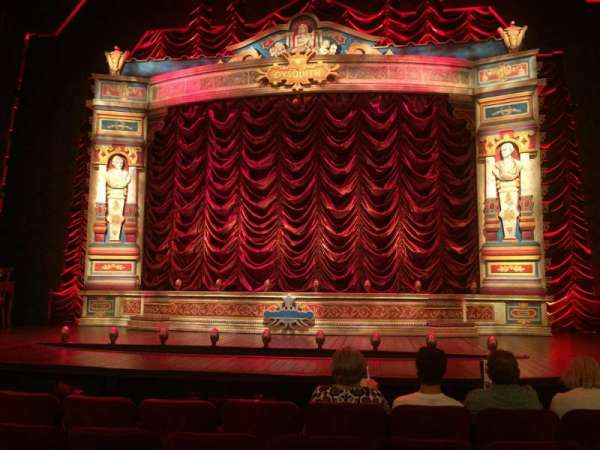 Walter Kerr Theatre, section: Orch Center, row: D, seat: 107
