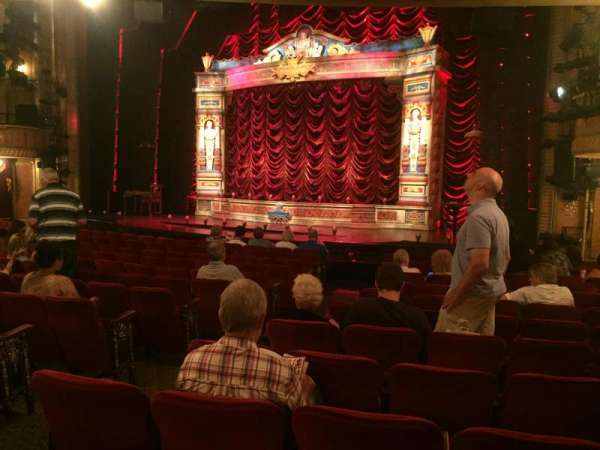 Walter Kerr Theatre, section: Orchestra R, row: R, seat: 8