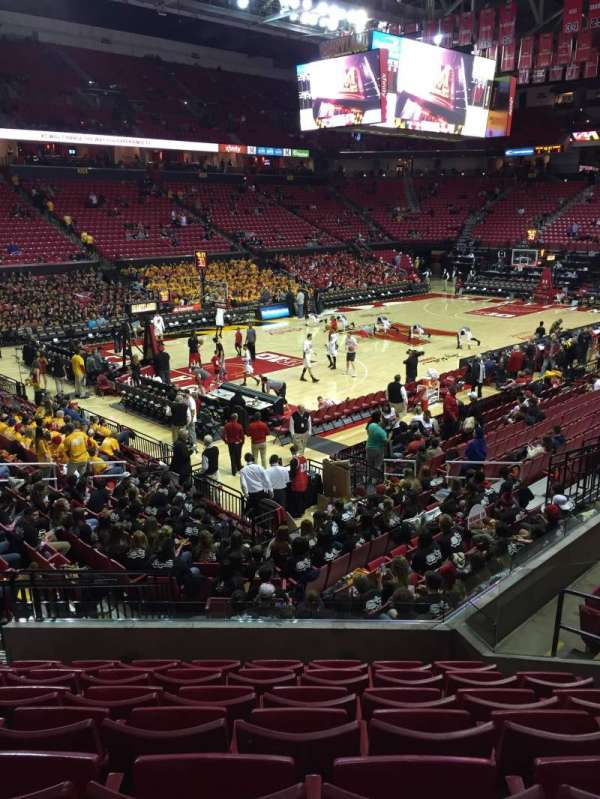 Xfinity Center Maryland Section 123 Row 7 Seat