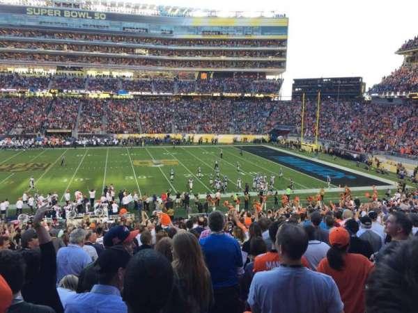 Levi's Stadium, section: C113, row: 33, seat: 7