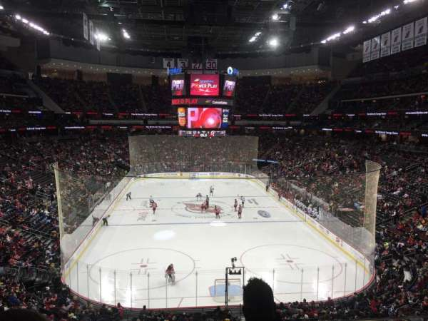 Prudential Center, section: 25, row: C