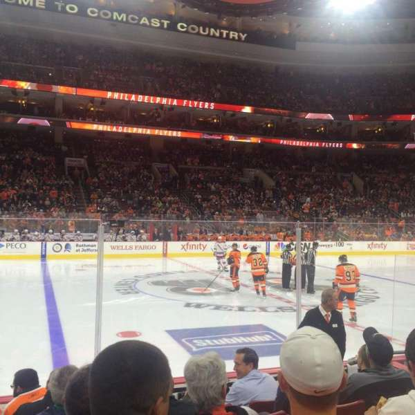 Wells Fargo Center, section: 112, row: 7, seat: 4