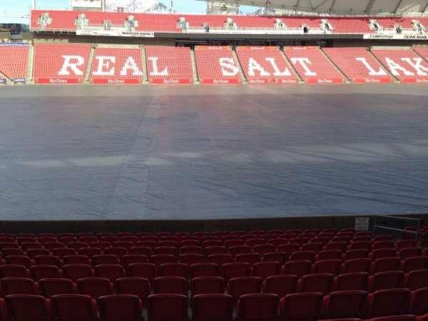 Rio Tinto Stadium, section: 21, row: p, seat: 14