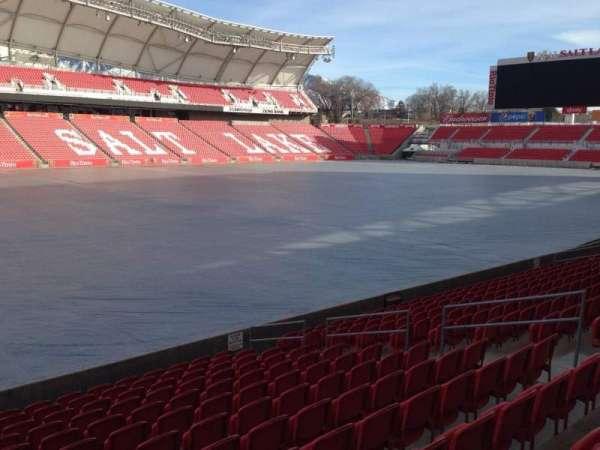 Rio Tinto Stadium, section: 23, row: p, seat: 14