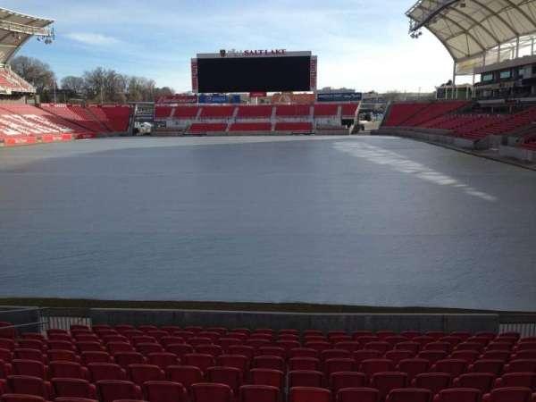 Rio Tinto Stadium, section: 27, row: p, seat: 11