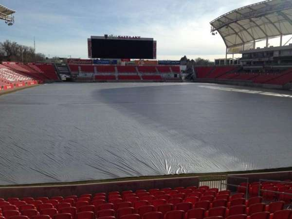 Rio Tinto Stadium, section: 30, row: p, seat: 11