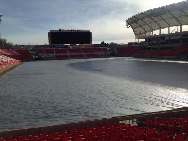 Rio Tinto Stadium, section: 31, row: p, seat: 12