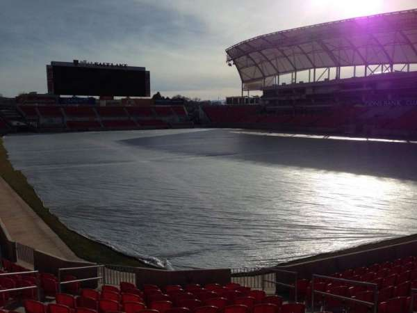 Rio Tinto Stadium, section: 32, row: p, seat: 10