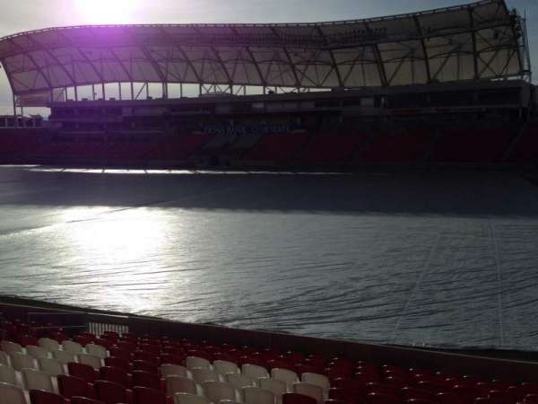 Rio Tinto Stadium, section: 34, row: p, seat: 15