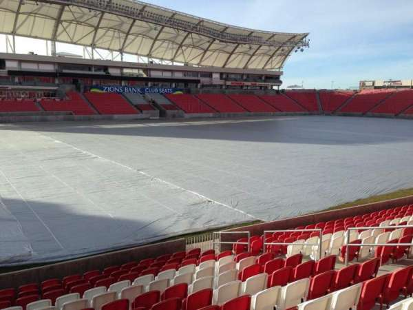 Rio Tinto Stadium, section: 5, row: p, seat: 14