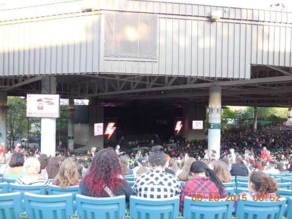 Xfinity Center, section: 14, row: N, seat: 20
