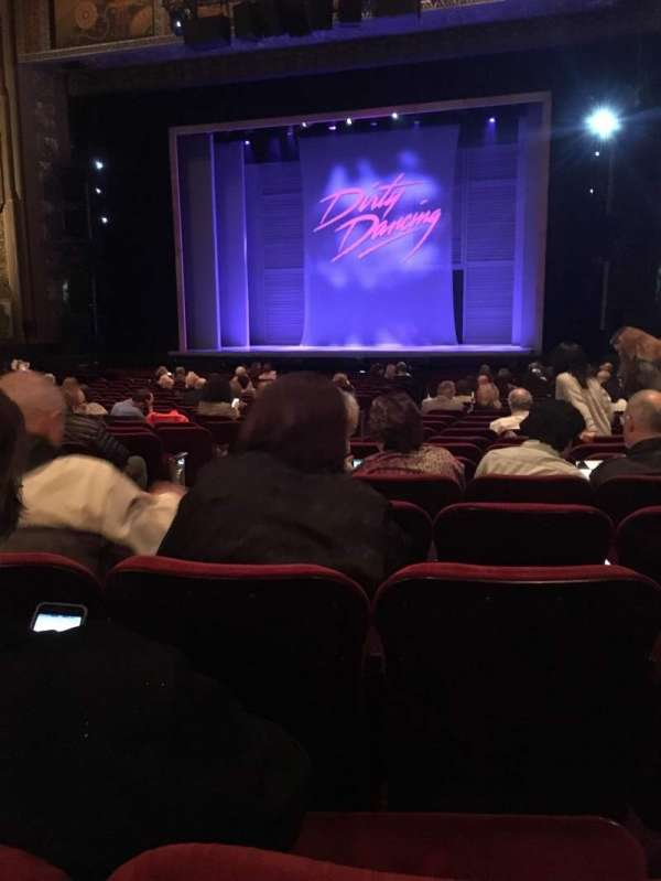Hollywood Pantages Theatre, section: Orchestra RC, row: X, seat: 203