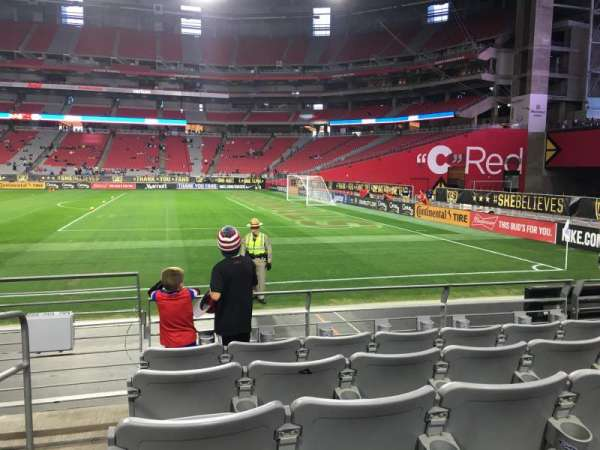 State Farm Stadium, section: 125, row: 5, seat: 17