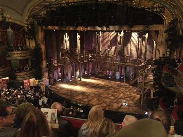 Richard Rodgers Theatre, section: Front Mezzanine R, row: D, seat: 18