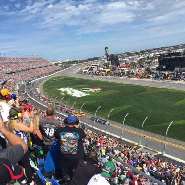 Daytona International Speedway, section: 364, row: 3, seat: 27