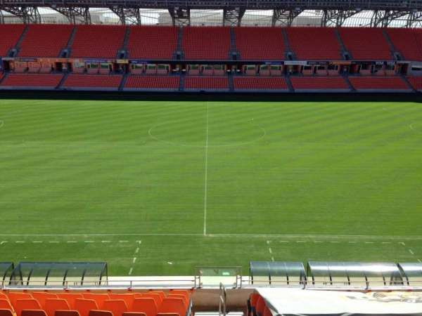 BBVA Stadium, section: 206B, row: B, seat: 10