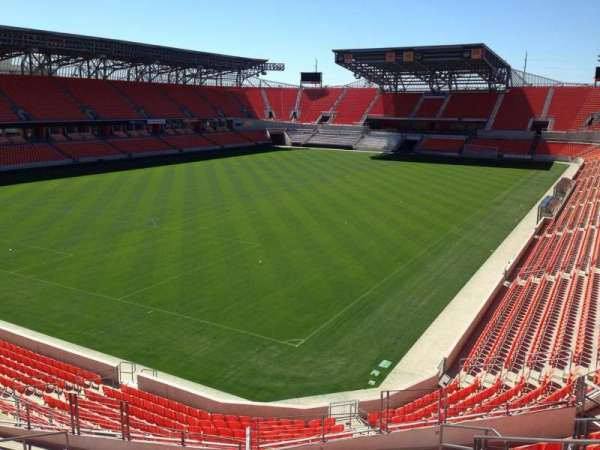 BBVA Stadium, section: 212, row: J, seat: 5