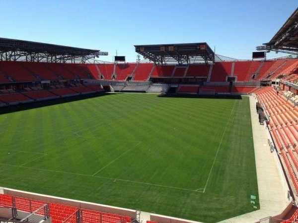 BBVA Stadium, section: 213, row: J, seat: 18