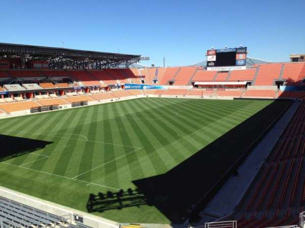 BBVA Stadium, section: 232, row: J, seat: 9