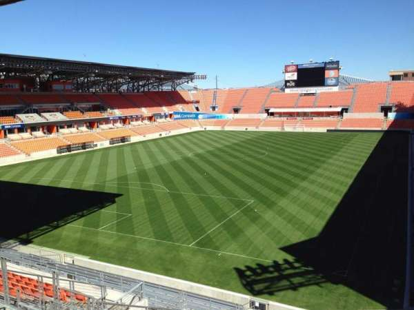 BBVA Stadium, section: 233, row: J, seat: 11