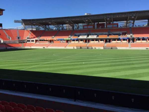 BBVA Compass Stadium, section: 125, row: F, seat: 15