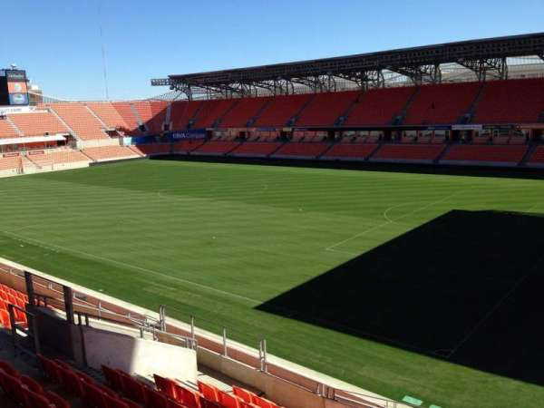 BBVA Stadium, section: 202, row: J, seat: 13