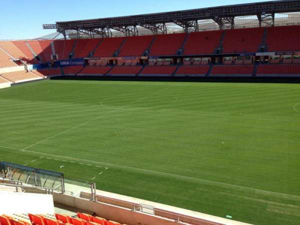 BBVA Compass Stadium, section: 204, row: J, seat: 15