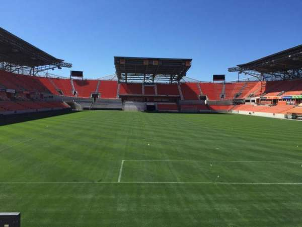 BBVA Compass Stadium, section: 116, row: F, seat: 15