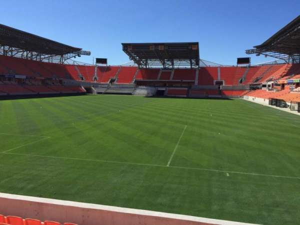 BBVA Stadium, section: 114, row: F, seat: 15