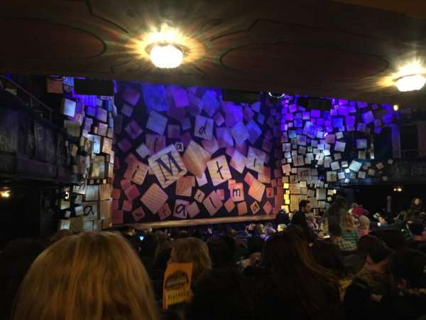 Shubert Theatre, section: Orchestra L, row: Q, seat: 21